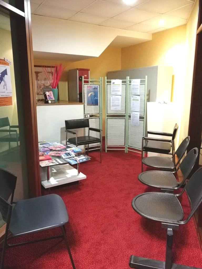 salle d'attente du MeltingSpot