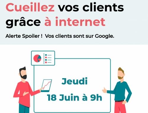 Petit déjeuner thématique : «Cueillez vos clients grâce à internet»
